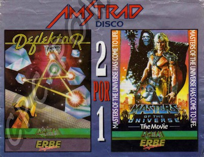 2 Por 1 - Deflektor + Masters Of The Universe boxcover 0
