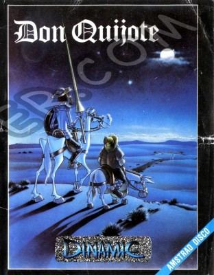 Don Quijote boxcover 1