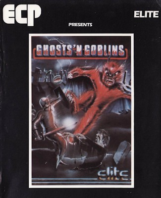 Ghosts'n Goblins boxcover 1