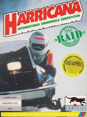 Harricana - International Snowmobile Race boxcover 0