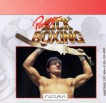 Panza Kick Boxing box cover