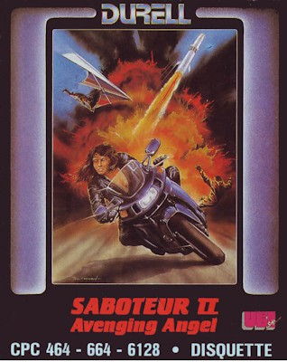 Saboteur II: Avenging Angel boxcover 0
